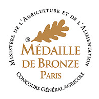 medaille bronze concours agricole