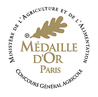 medaille or concours agricole